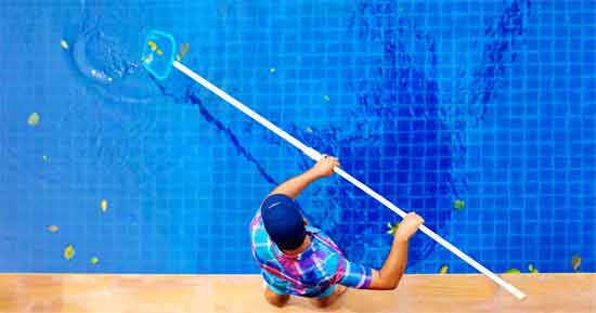 Clean the Pool Regularly